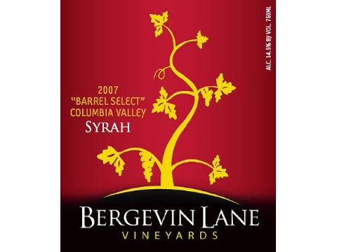 2007 Bergevin Lane BS Syrah