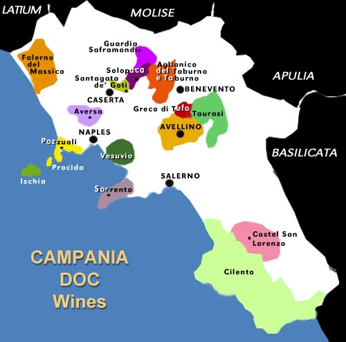 Barolo Wine Region Italy Map.Taurasi The Barolo Of The South Larry The Wine Guy
