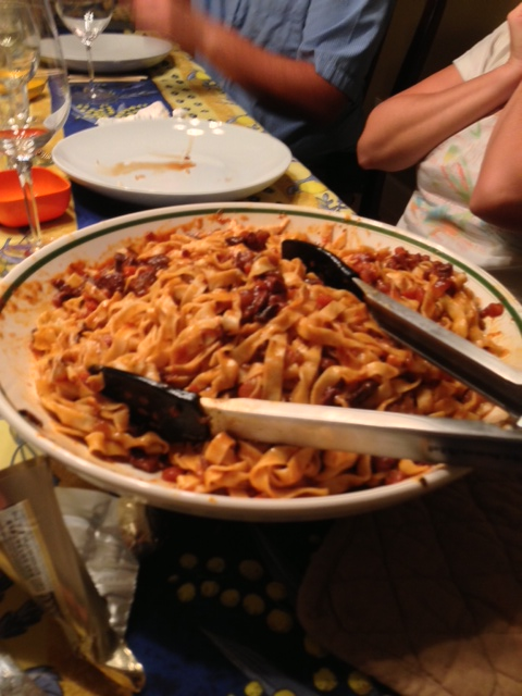 Pasta With Duck Ragu