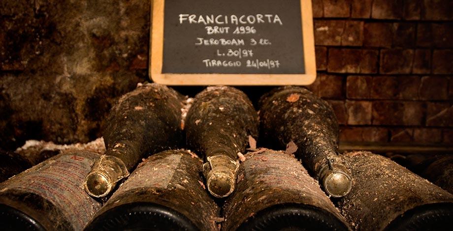 Franciacorta in the cellar