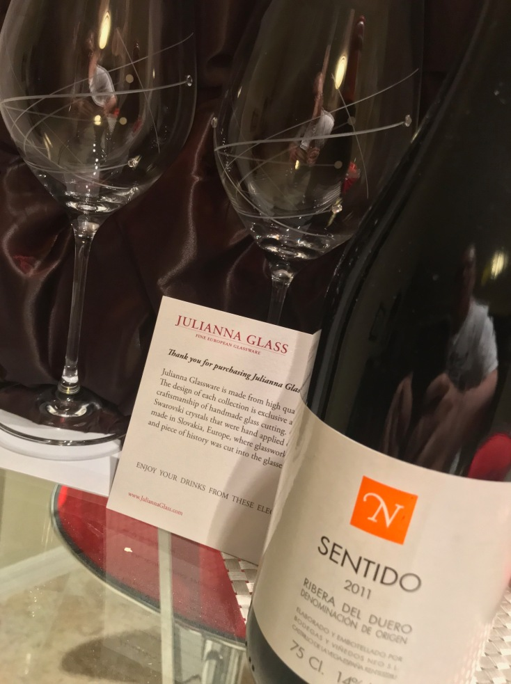 Sentido Front With Glassware