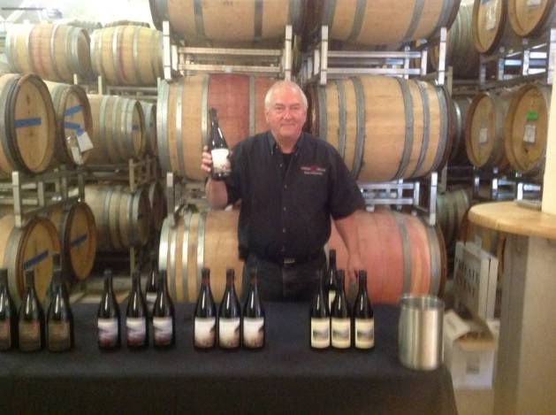 Dave Grooters In Barrel Room