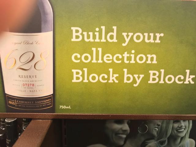 Block Wine Sign 2