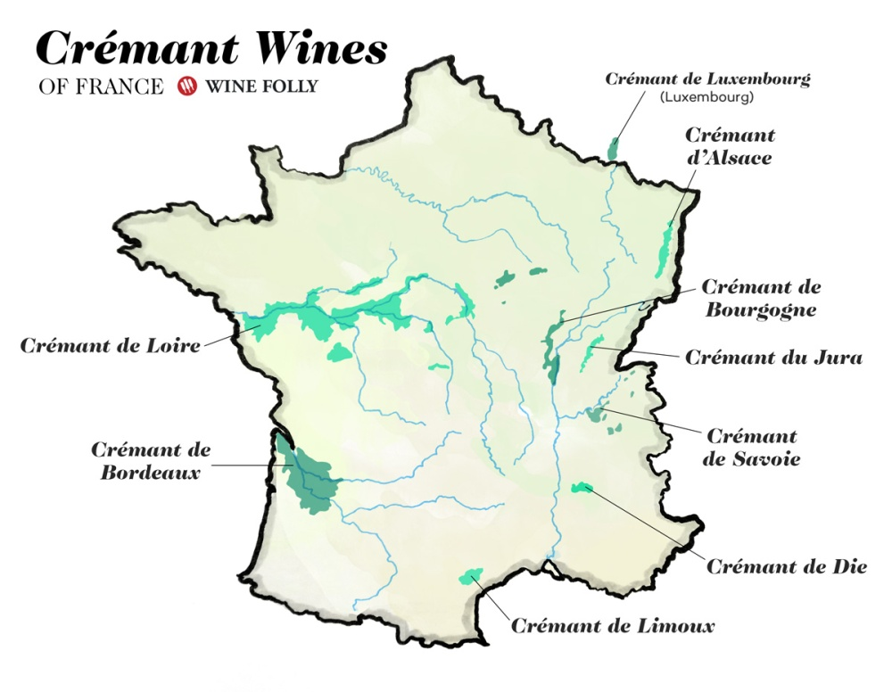 Cremant-wines-of-France-map