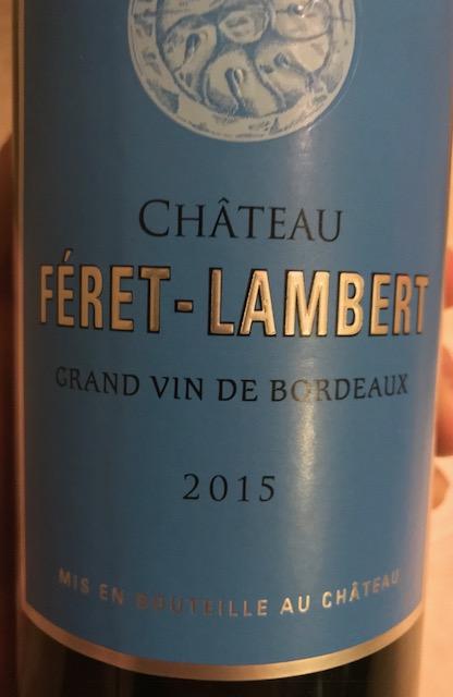 Chateau Feret Lambert Front
