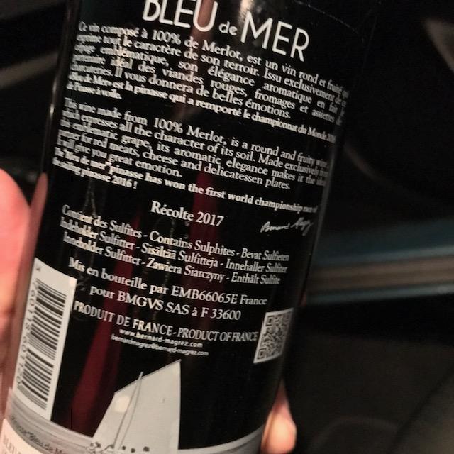 bleu rear
