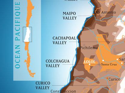 Araucano Map
