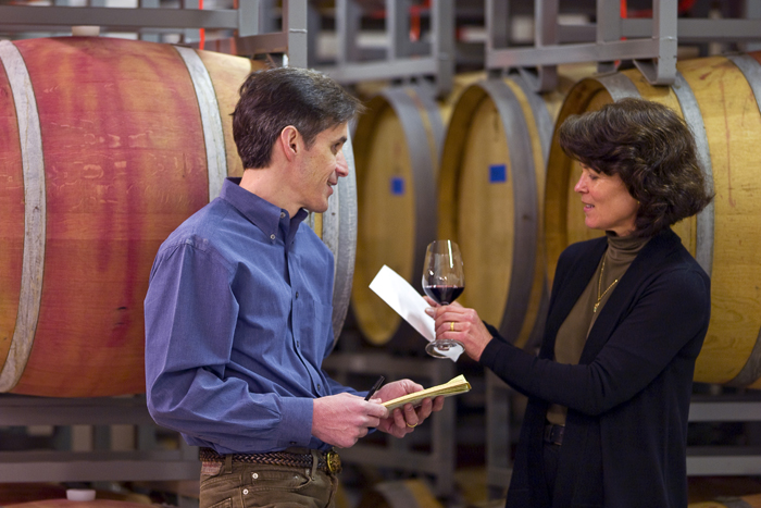 Tim Sorenson & Nancy Rivenburg of Fall Line Winery