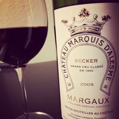 Margaux Bottle Glass